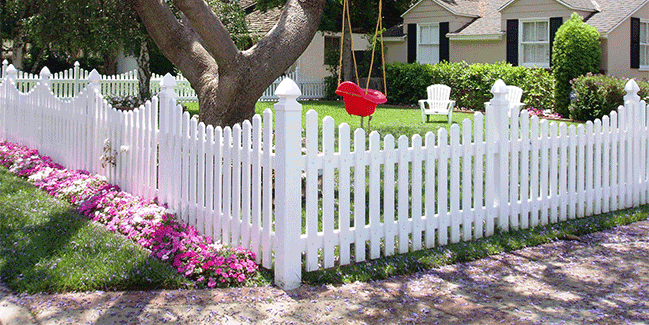 Vinyl Picket Fence Newport Beach CA